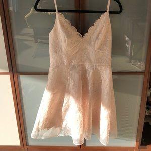 Beautiful light pink embroided dress